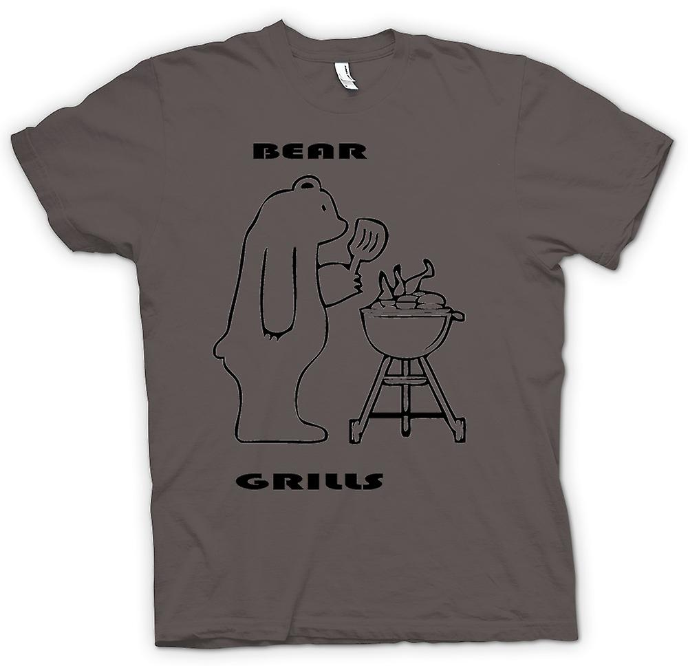 Womens T-shirt - Bear Grills - Quote