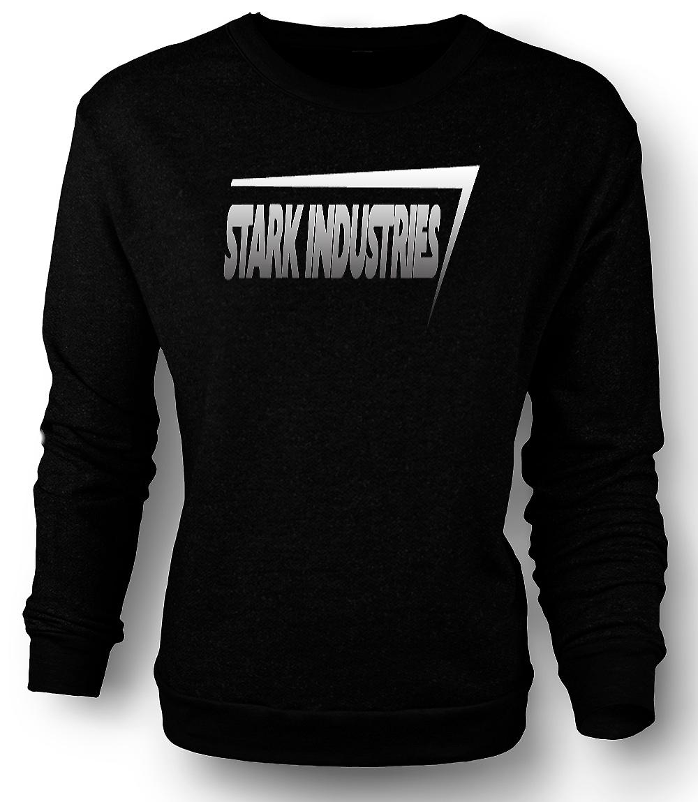 Mens Sweatshirt Stark Industries Logo - Iron man