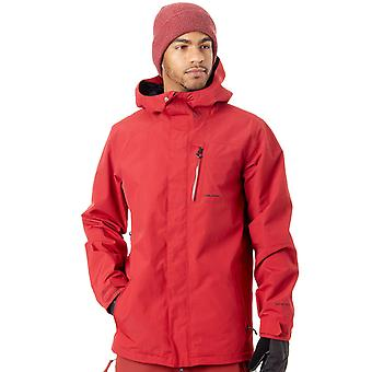 Volcom Red L Gore-Tex Snowboarding Jacket