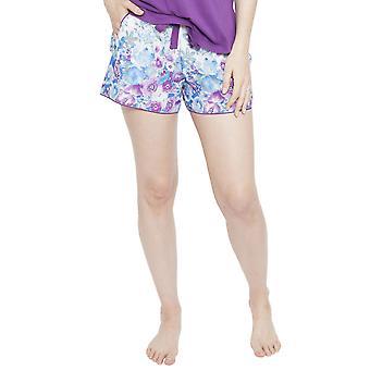 Cyberjammies 4096 Women's Andrea White Floral Print Pyjama Short