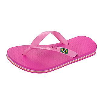 Ipanema Kids Classic Brazil Girls Flip Flops / Sandals - Pink