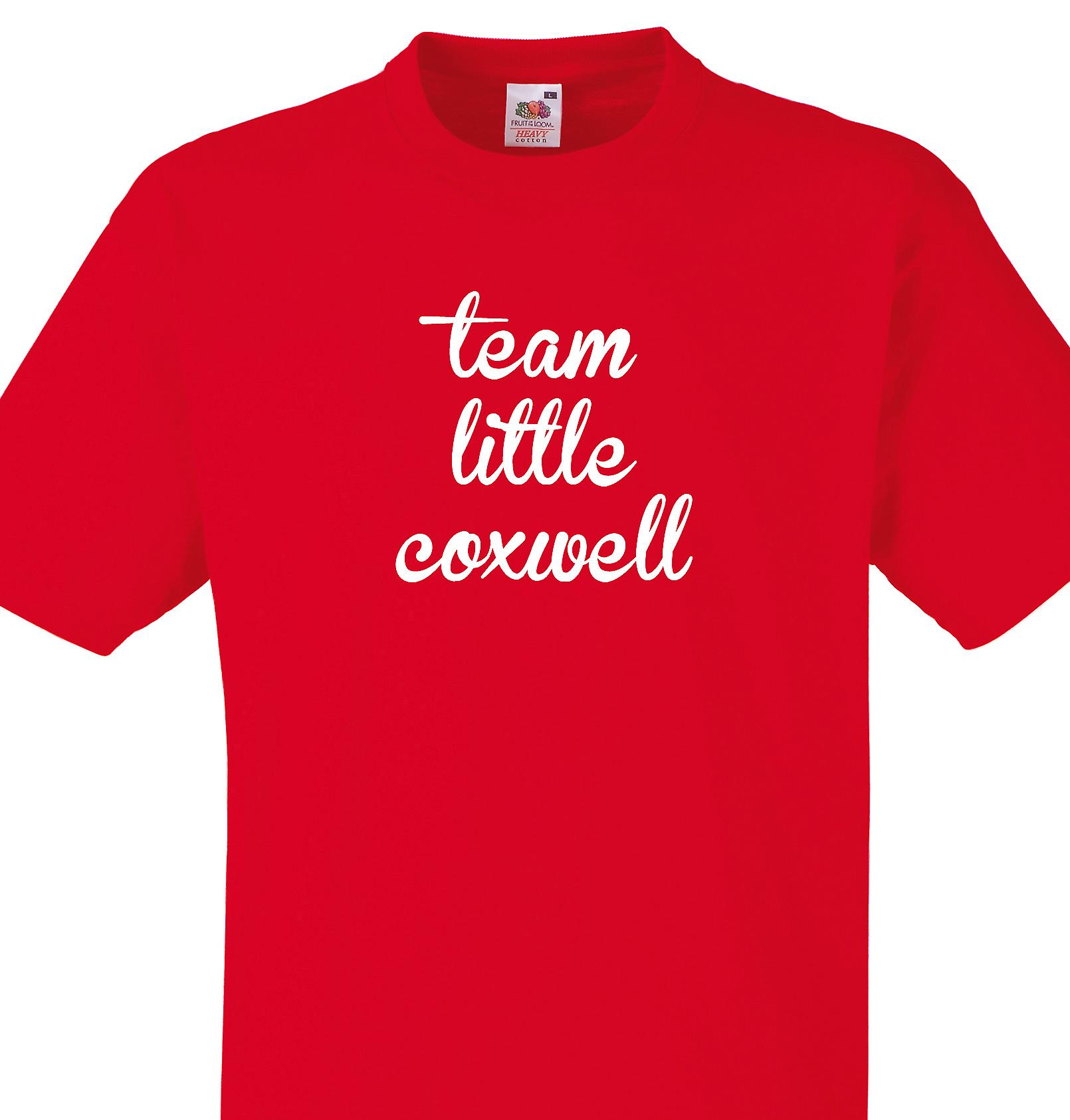 Team Little coxwell Red T shirt
