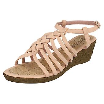 Kære plet på kile sandaler F10037A