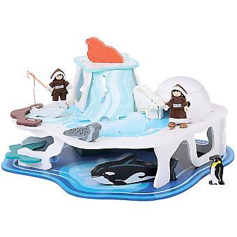 بيججيجس لعب التراث Playset الجليدية القطبية
