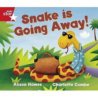 Rigby stjärnigt guidad receptionen röd nivå: Snake är gå bort elev bok