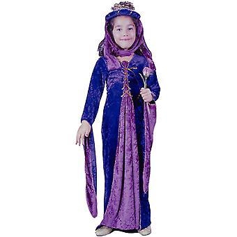 Purple Renaissanse Princess Child Costume