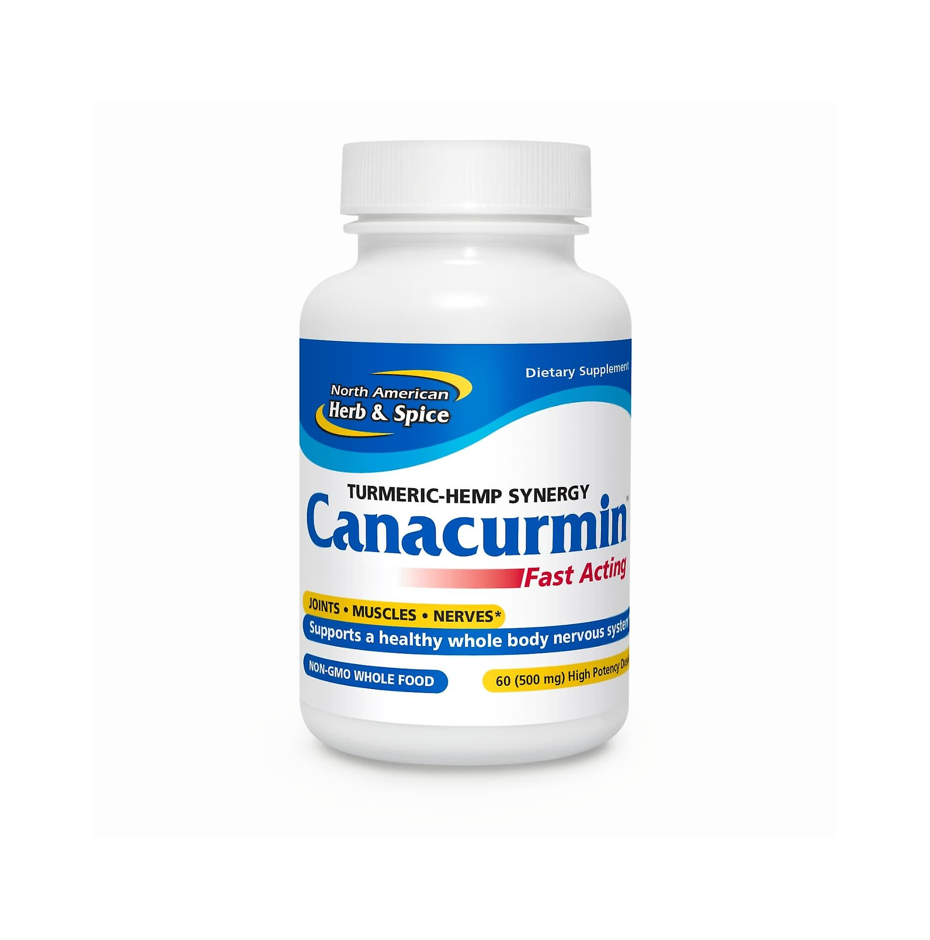 North American Herb & Spice Canacurmin 60 gelcaps