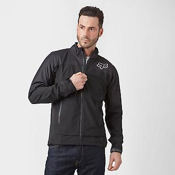 New Fox Attack Water Long Sleeve Full Zip Jacket Black