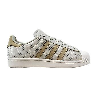 Adidas Superstar Fashion J Clear Brown/Linen Khaki-Chalk White BB2525 Grade-School