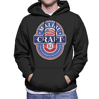 Malibu Craft Ale Men's Hooded Sweatshirt