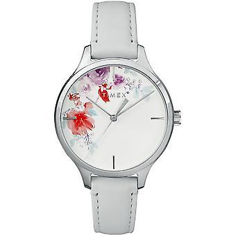 Timex Damenuhr Crystal Bloom 36mm Leder Armband TW2R66800