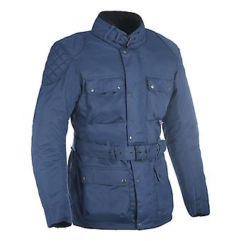 Oxford Blue Churchill giubbotto moto impermeabile