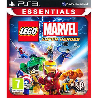 Lego Marvel Super Heroes Essentials - Playstation 3