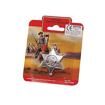 Bnov Sheriff Badge Metal
