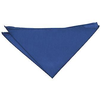 Navy Blue shantung Pocket Square