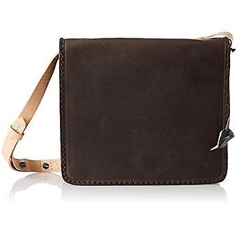 Clarks Teddington Way - Borse a tracolla Donna Marrone (Brown Leather) 7x22x19 cm (B x H T)