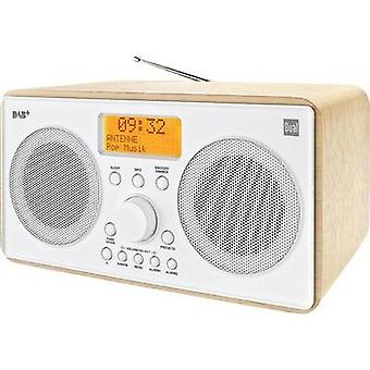 DAB+ Table top radio Dual DAB 27 DAB+, FM Wood