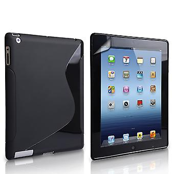 Caseflex Apple iPad Mini 2, 3 SLine Gel Case Black