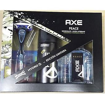 Axe Trio Peace (Deodorant 150 ml + Aftershave 100 ml + Maquina Afeitar)