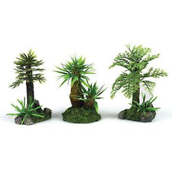 Classic For Pets Plant Assort 150mm   3pcs (Fish , Decoration , Artificitial Plants)