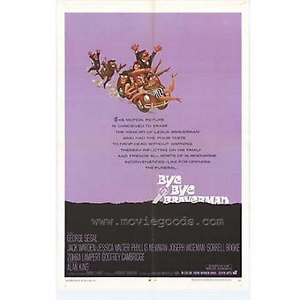 Bye Bye Braverman Movie Poster drucken (27 x 40)