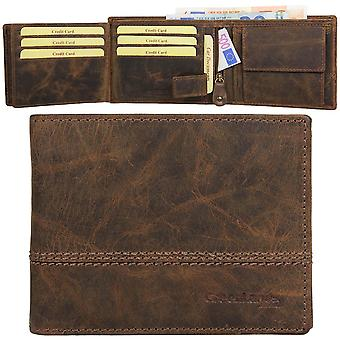 GREEN country classic Buffalo leather purse wallet 2553-25