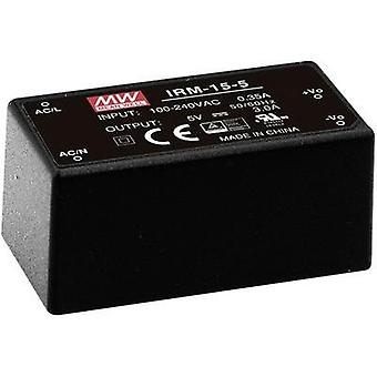 AC/DC PSU (print) Mean Well IRM-15-24 24 Vdc 0.63 A 15 W
