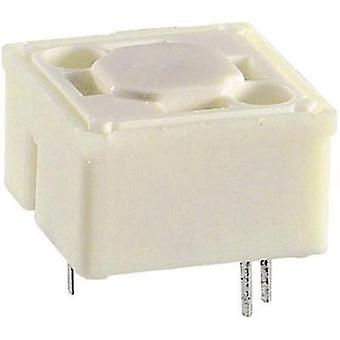 Pushbutton 42 V DC/AC 0.1 A 1 x Off/(On) RAFI RF 15 BEL. 1-FACH LED GELB momentary 1 pc(s)