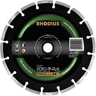 Rhodius 394138 Diamond cut-off wheel, segmented