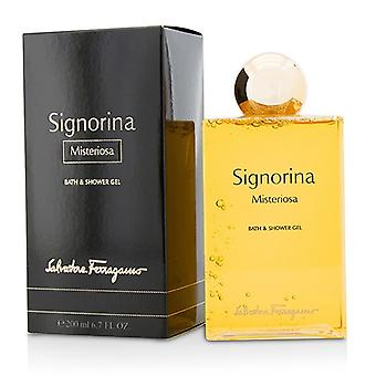 Salvatore Ferragamo Signorina Misteriosa Bath & Shower Gel 200ml/6.7oz