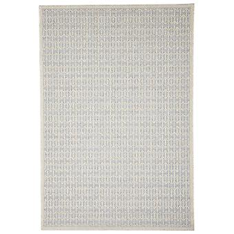Sølv skridsikre udendørs geometriske tæpper - Floorit