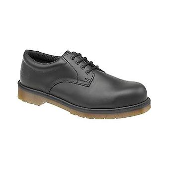 Dr Martens FS57 Unisex Safety Shoes Textile Leather PVC Sole Lace Up Fastening