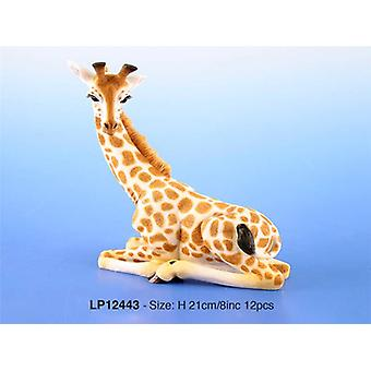 Decorative Sitting Giraffe Ornament Small