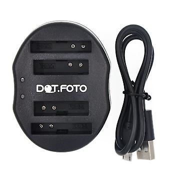 Dot.Foto Canon NB - 4L Dual USB caricabatteria