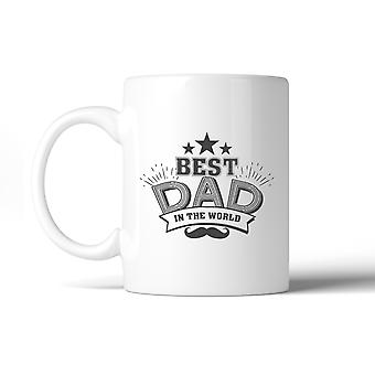 Best Dad In The World Fathers Day Mug Cup Dishwasher Microwave Safe