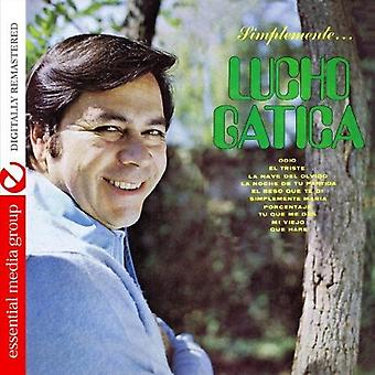 Lucho Gatica - importazione USA Simplementea Lucho Gatica [CD]