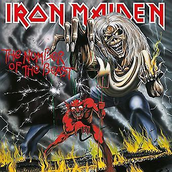 Iron Maiden - Anzahl der Bestie [Vinyl] USA import