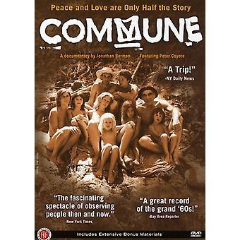 Importación de Estados Unidos comuna [DVD]