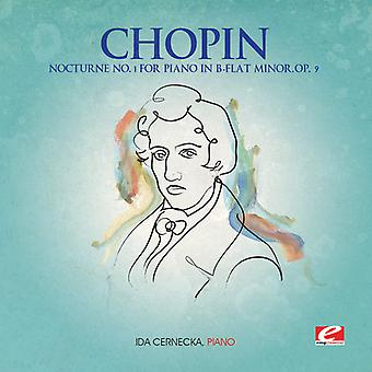 F. Chopin - Nocturne 1 pour Piano si bémol mineur Op 9 [CD] USA import