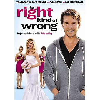 Right Kind of Wrong [DVD] USA import