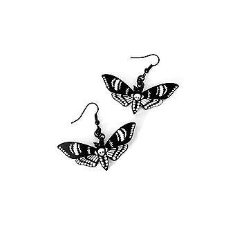 Curiology - DEATHS HEAD MOTH - Earrings, Fashion Jewellery