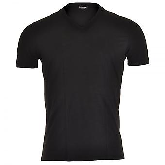 Dsquared2 Modal Stretch Neck T-Shirt, Black, Small