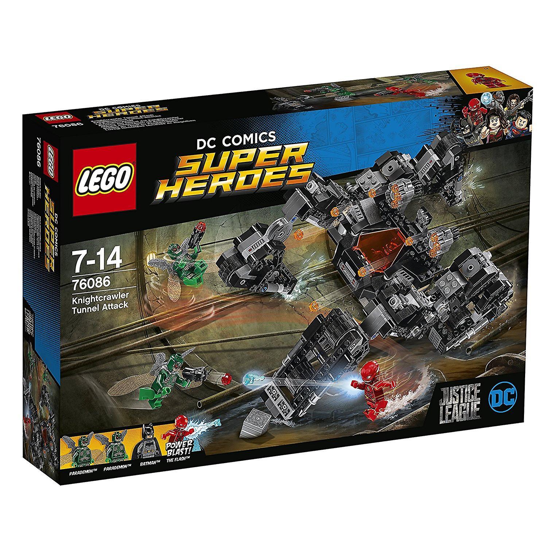 Lego Super Heroes 76086 Knightcrawler Tunnel Attack Toy