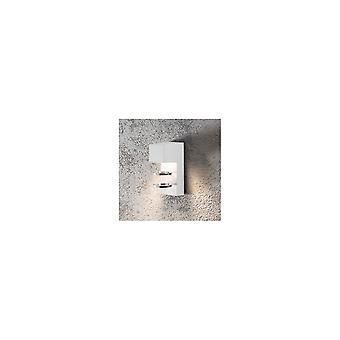 Konstsmide Acerra Modern Scandavian Wall Porch Light White