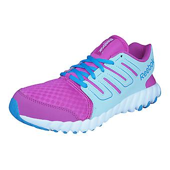 Reebok Twistform Junior /  Kids Running Trainers / Shoes - Pink and Blue