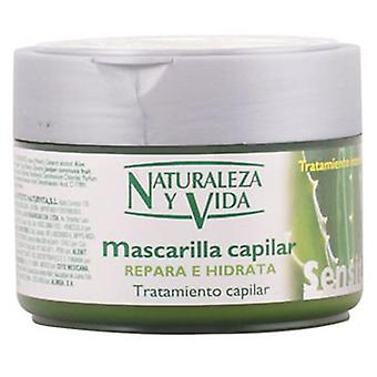 Naturaleza y Vida Mask repairs and moisturizes Sensitive 300 ml