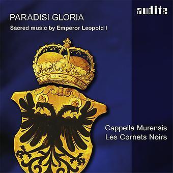 Leopoldo / Murensis / Strobl - Leopold I.: importación de Estados Unidos Paradisi Gloria [CD]