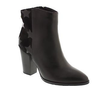 Tommy Hilfiger L1285OPEZ 5B - Black Combi (Leather) Womens Boots