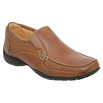 Anatomic & Co Parati Cognac Leather Slip On Shoe