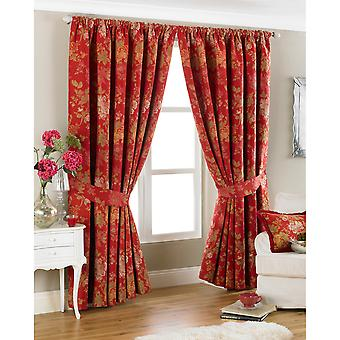 Riva Home Berkshire Pencil Pleat Curtains